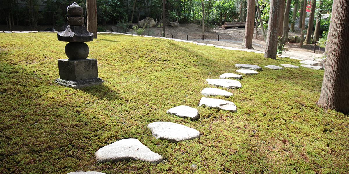 京都の樹木葬がある東福寺の正覚庵の風景