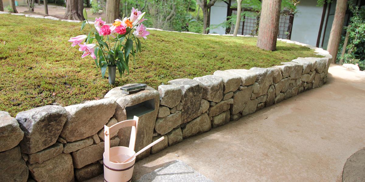 京都の樹木葬がある東福寺の正覚庵の墓所