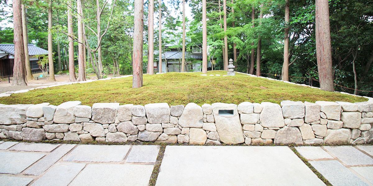 京都の樹木葬がある東福寺の正覚庵の墓苑